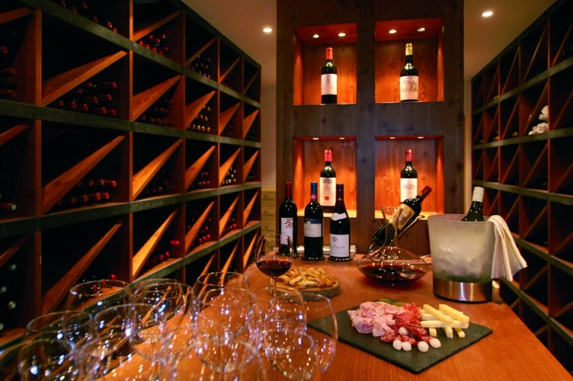 Chalet RoyAlp Hotel Spa Royalp The Cellar