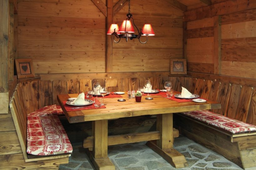 Chalet RoyAlp Hotel Spa Royalp The Table Dhetes
