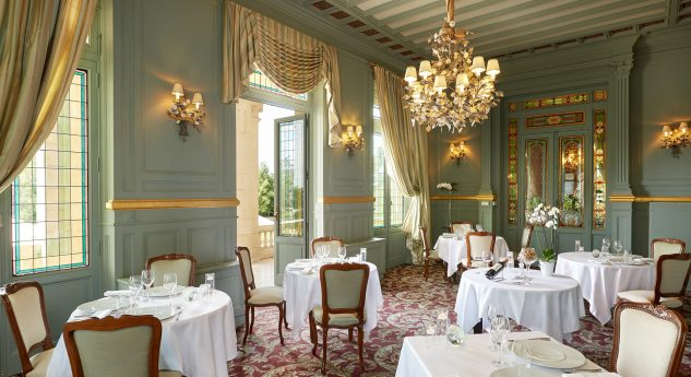 Chateau Hotel and Spa Grand Barrail Grand Salon Dining Room