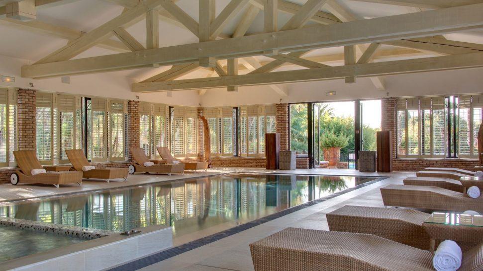 Chateau de Valmer Indoor Pool