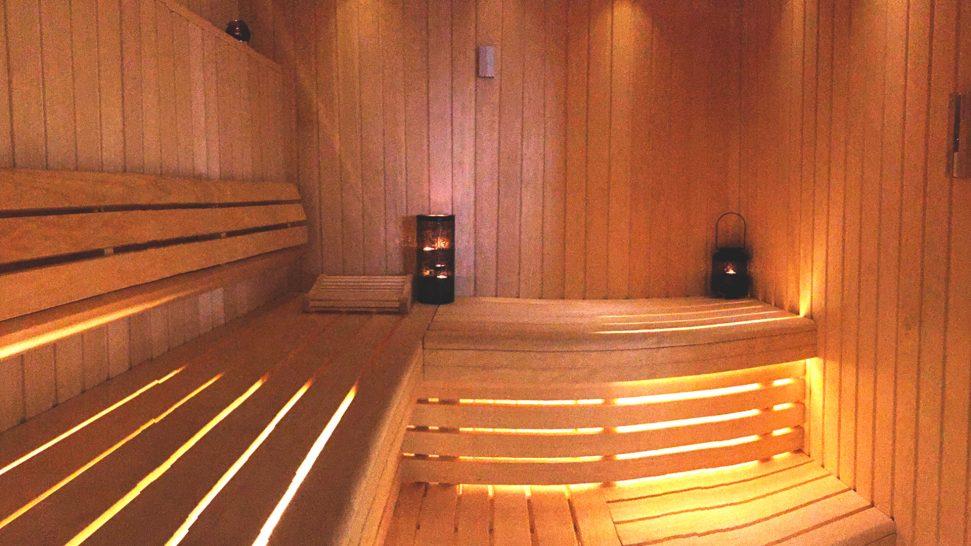 Chateau des Vigiers New Sauna
