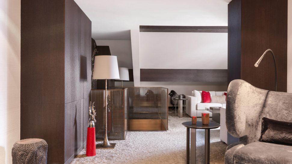 Cheval Blanc Courchevel Deluxe Duplex Suite