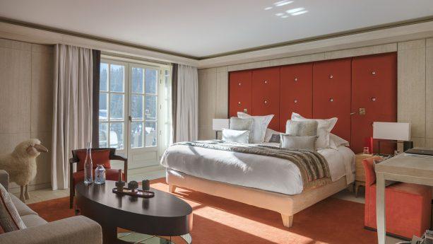 Cheval Blanc Courchevel Deluxe Superior Room