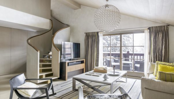 Cheval Blanc Courchevel Duplex Suite