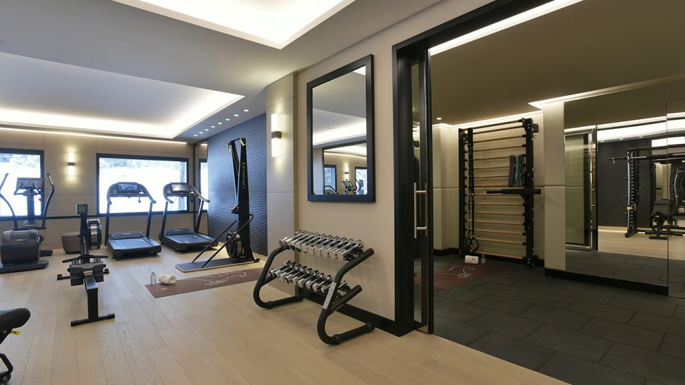 Cheval Blanc Courchevel Gym