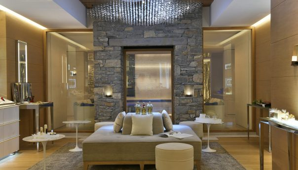 Cheval Blanc Courchevel Lobby Interior