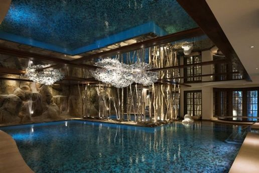 Cheval Blanc Courchevel Outdoor Pool