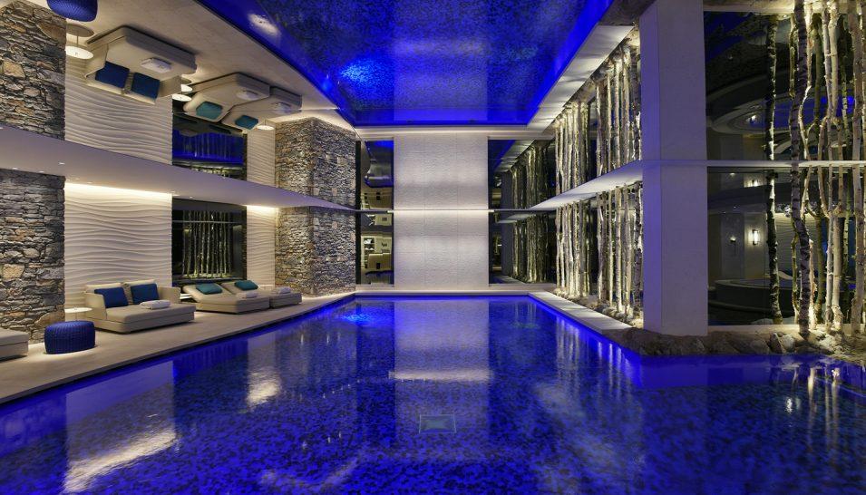 Cheval Blanc Courchevel Pool