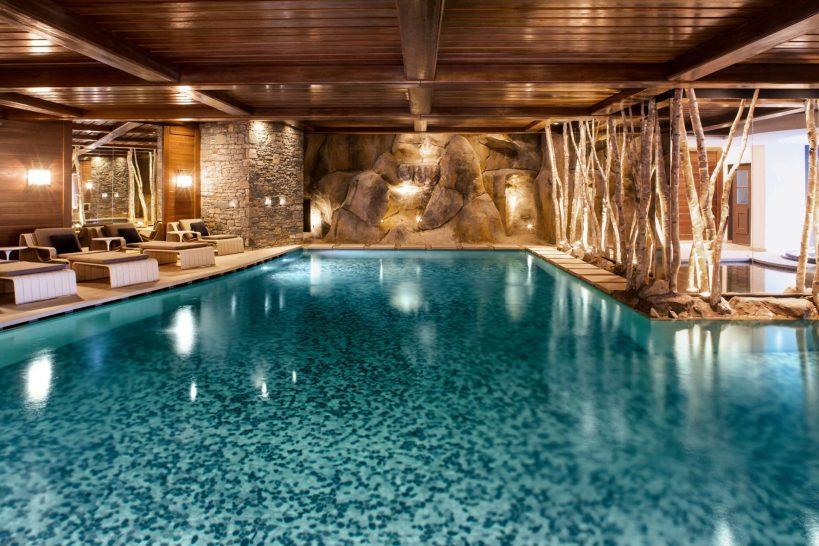 Cheval Blanc Courchevel Spa Pool