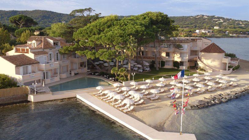 Cheval Blanc St Tropez Spa View