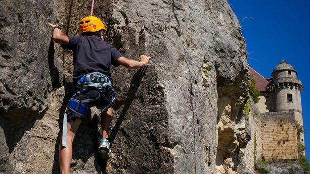 Chteau des Vigiers Climbing