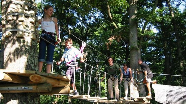 Chteau des Vigiers Tree climbing