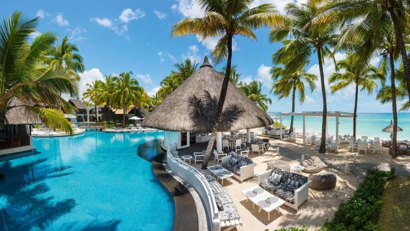 Constance Belle Mare Plage Mauritius Pool View