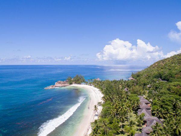 Constance Lemuria Praslin Seychelles Beach View