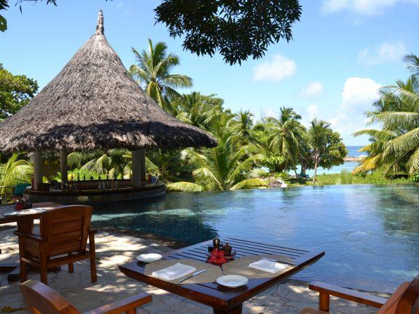Constance Lemuria Praslin Seychelles Legend Pool Bar