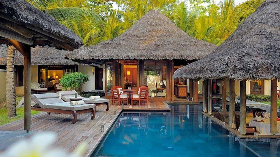 Constance Lemuria Praslin Seychelles Outdoor Pool