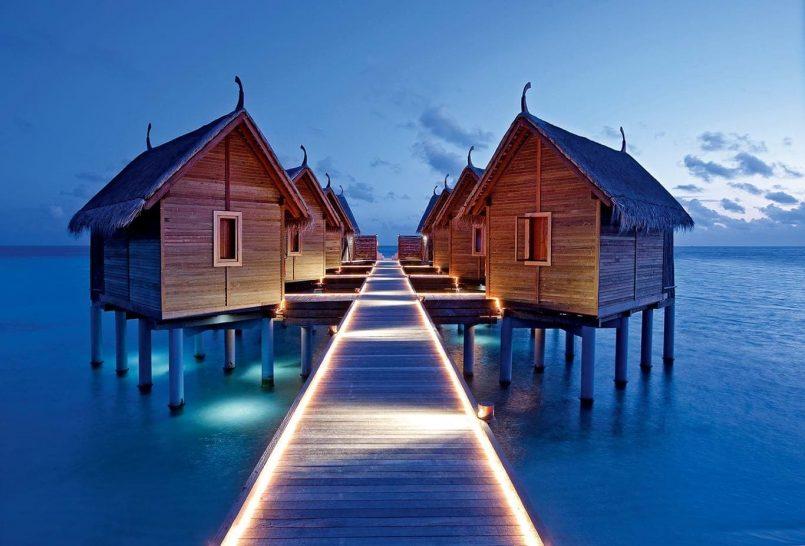 Constance Moofushi Maldives Lobby View