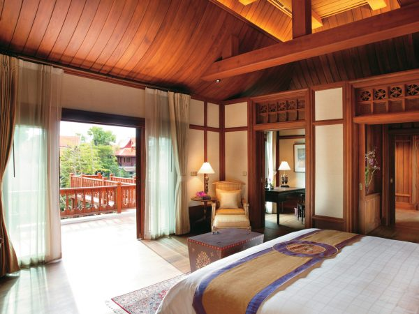 Dhara Dhevi Chiang Mai Resort Grand Deluxe Villa with Jacuzzi