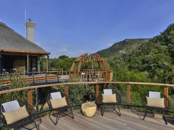 Eagles Crag Shamwari Game Reserve Firepit Deck