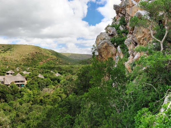 Eagles Crag Shamwari Game Reserve View