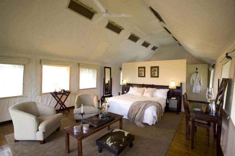 Elephant Gorah Camp Luxury Tent