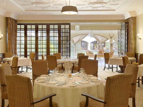 Fairmont Mount Kenya Safari Club Colobus Restaurant