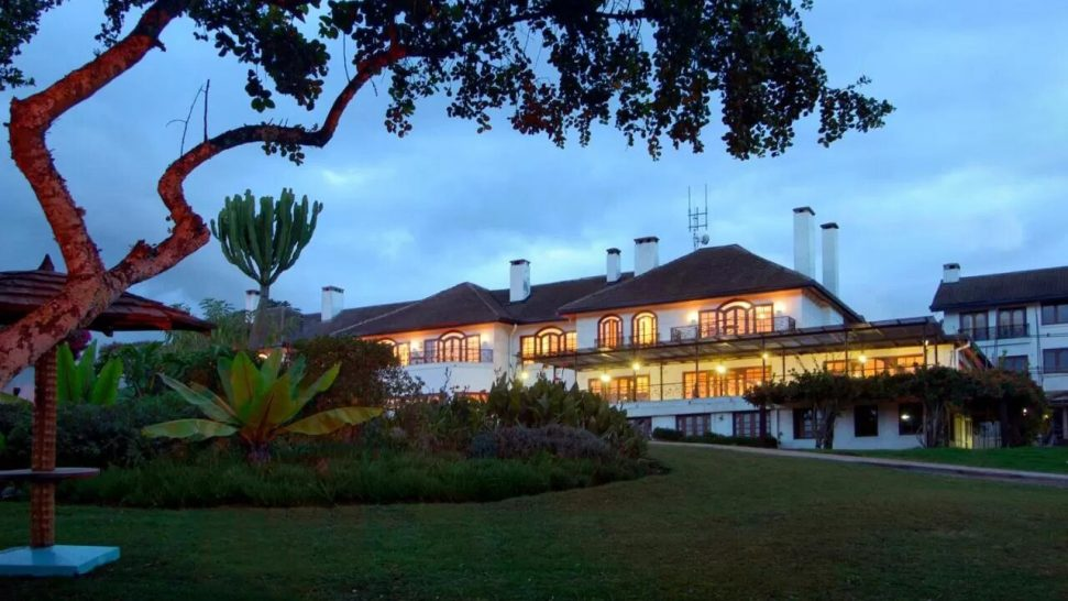 Fairmont Mount Kenya Safari Club Lobby View
