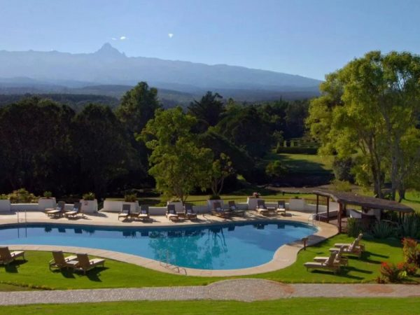 Fairmont Mount Kenya Safari Club Outdoor Pool