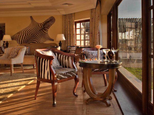 Fairmont Mount Kenya Safari Club Private Dining Room