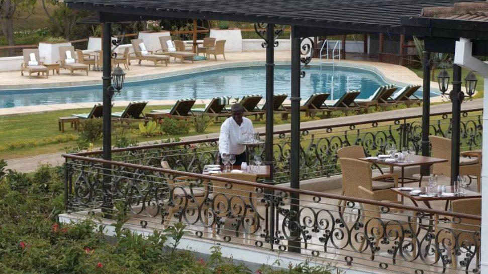 Fairmont Mount Kenya Safari Club Tusks Restaurant and Terrace
