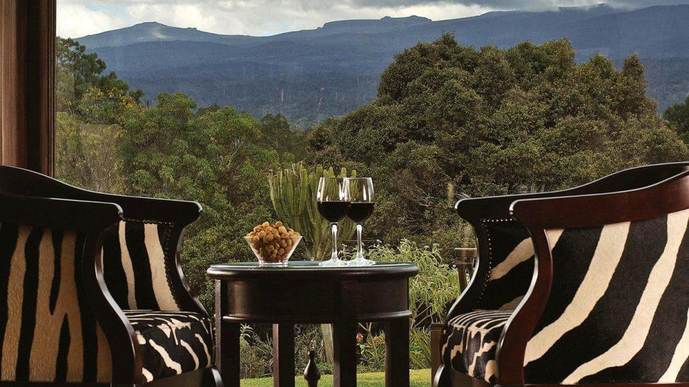Fairmont Mount Kenya Safari Club Zebar