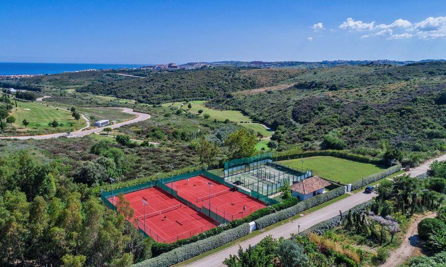 Finca Cortesin Hotel, Golf & Spa tennis