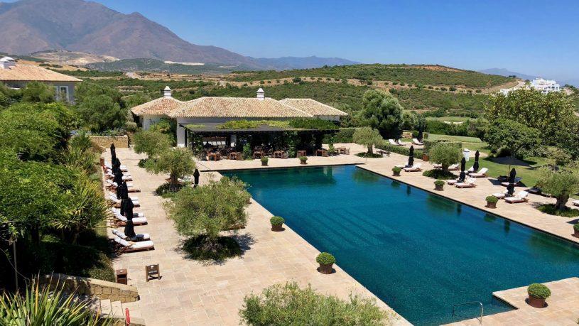 Finca Cortesin resort pool Spain