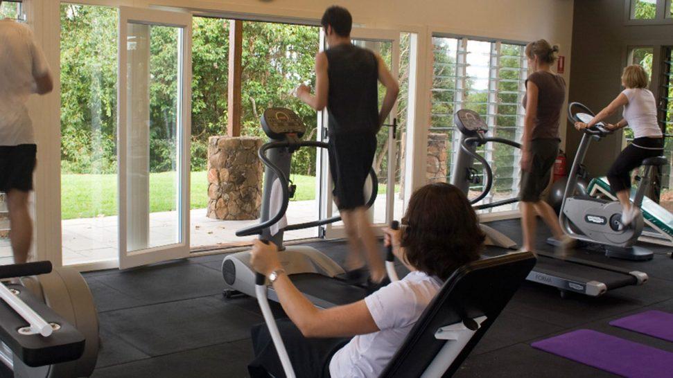 Gaia Retreat and Spa Gym