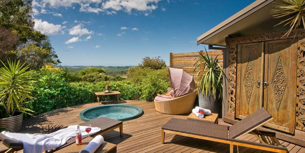 Gaia Retreat and Spa Lobby