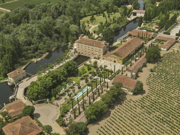 Hacienda Zorita Arial View