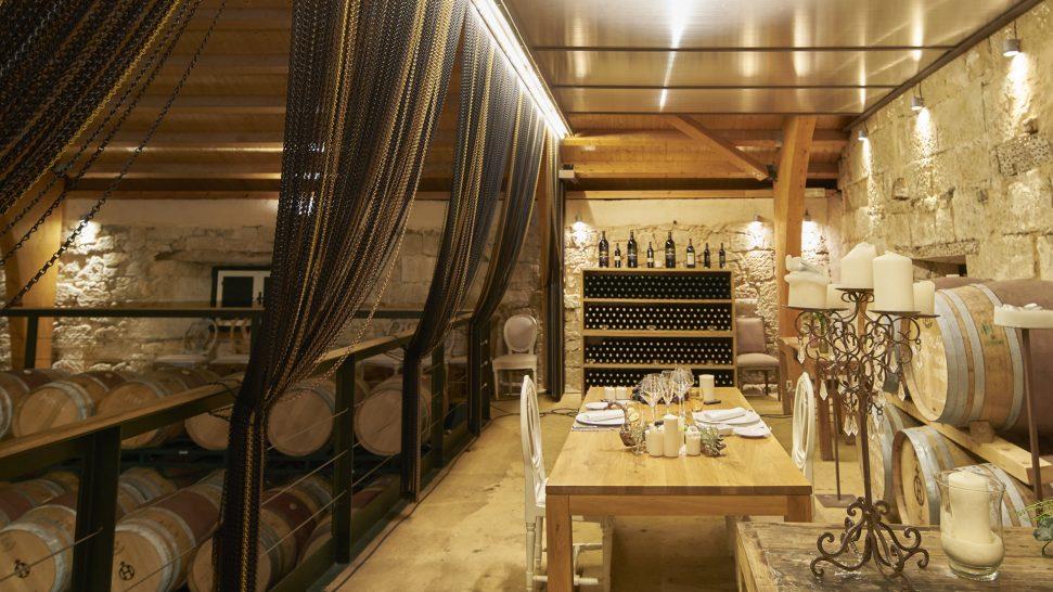 Hacienda Zorita Private dinner in the wine cellarHacienda Zorita Private dinner in the wine cellar