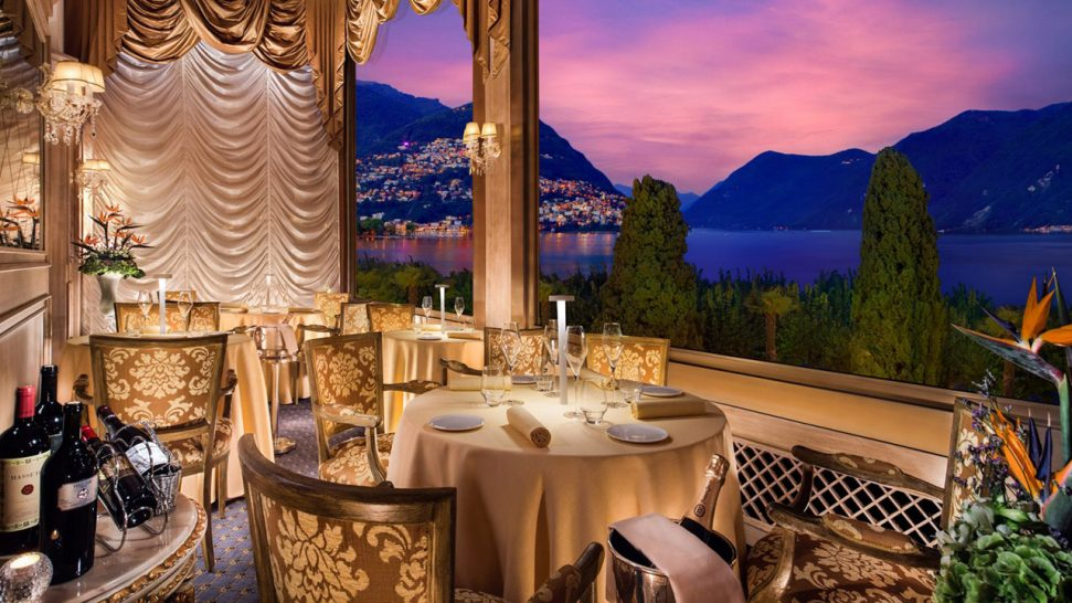 Hotel Splendide Royal Lugano I Due Sud Restaurant