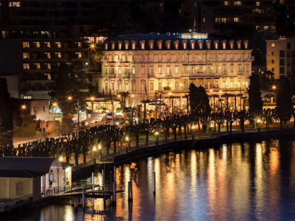 Hotel Splendide Royal Lugano Night View