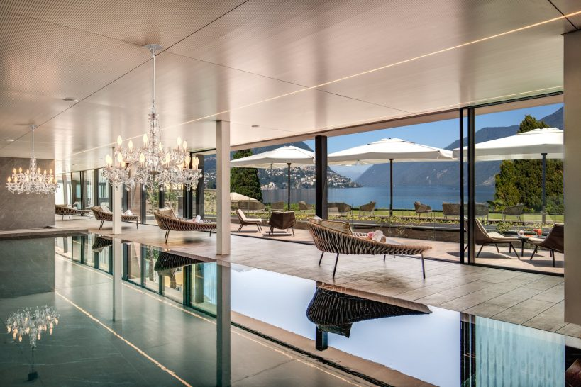 Hotel Splendide Royal Lugano Pool