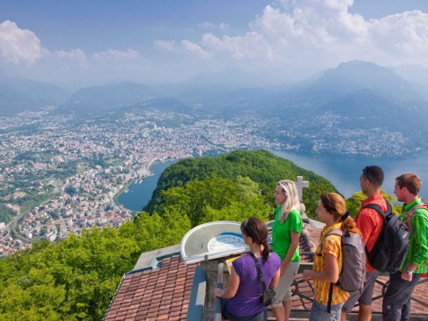 Hotel Splendide Royal Lugano Ride & Hike to the top