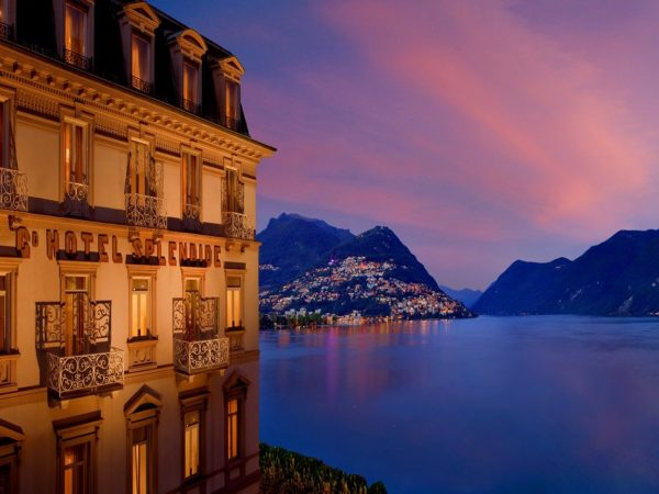 Hotel Splendide Royal Lugano Sunset View