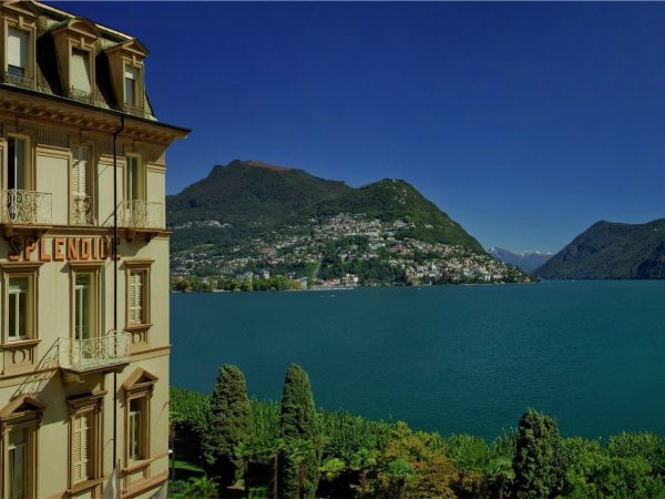 Hotel Splendide Royal Lugano View