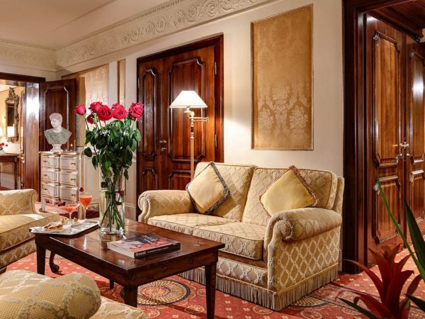 Hotel Splendide Royal Rome Suite Royal Wing