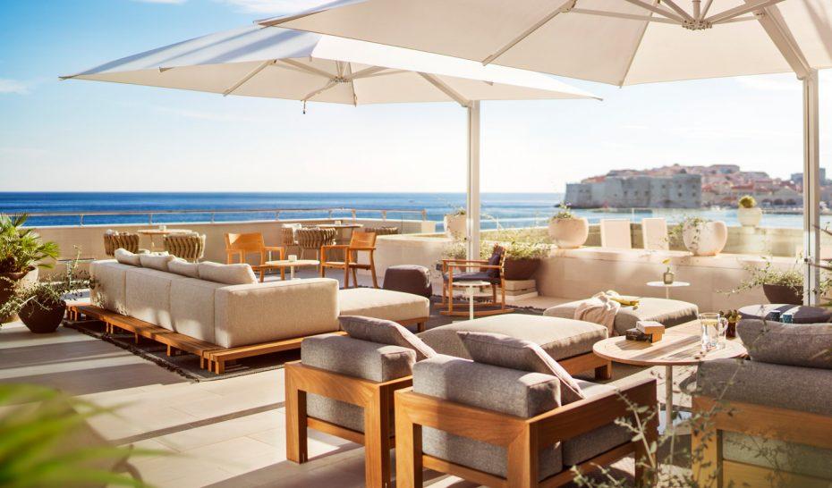 Hotel excelsior dubrovnik Abakus Piano Bar Terrace