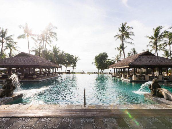 InterContinental Bali Resort Balinese Bath Pool