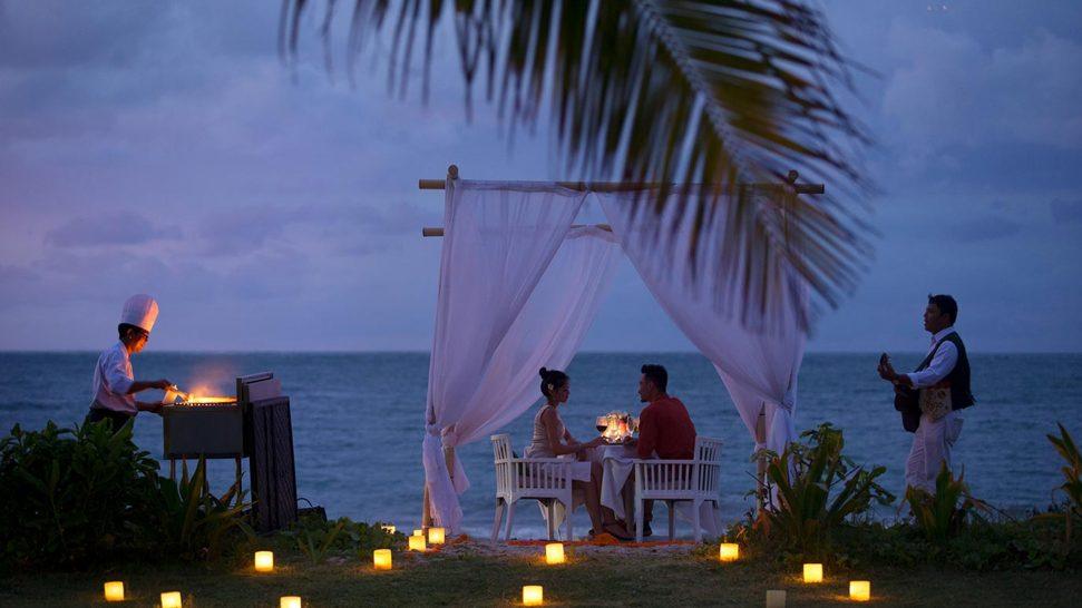 InterContinental Bali Resort Romantic Dinner