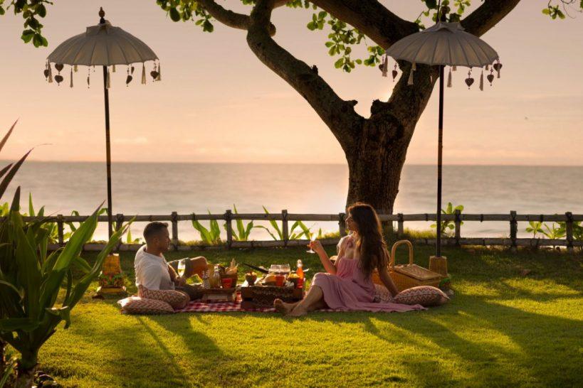 Intercontinental Bali Resort picnic lunch