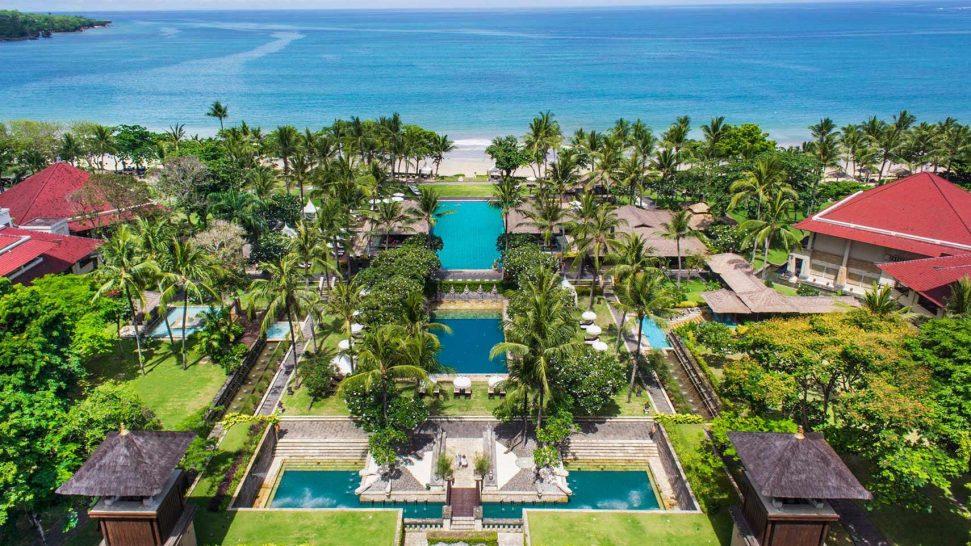Intercontinental bali resort jimbaran grounds
