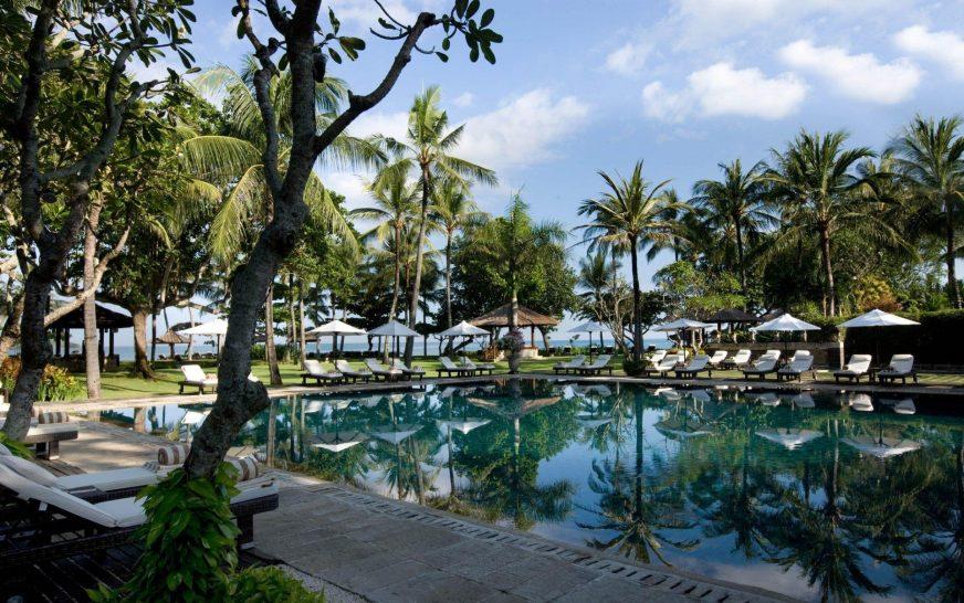 Intercontinental bali resort jimbaran main pool